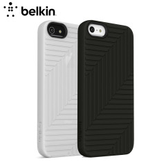 Belkin F8W130 Flex Twin Case Pack for iPhone 5 - Black / White