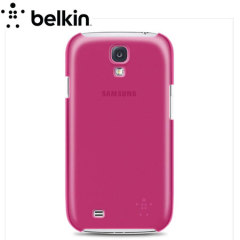 Belkin Shield Sheer Case For Samsung Galaxy S4 - Pink