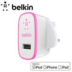 Belkin Single AC Wall Charger 2.1A - Pink
