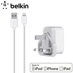 Belkin Single Micro AC 2.1A Wall Charger with 4ft Lightning Cable