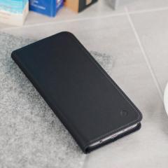 Beyza Arya Folio P Samsung Galaxy S8 Leather Wallet Stand Case - Black