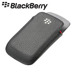 BlackBerry Bold 9790 Leather Pocket - Black