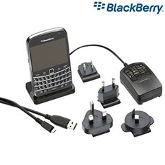 BlackBerry Bold 9900 Charging Pod with International Chargers