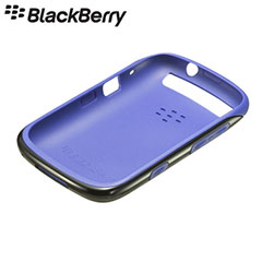 BlackBerry Curve 9320 Premium Shell - ACC-46610-203 - Black/Purple