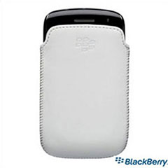 BlackBerry Curve 9350/9360/9370 Pocket White w/Grey Liner