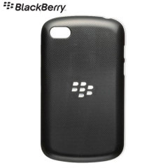BlackBerry Hard Shell for BlackBerry Q10- Black - ACC-50877-201