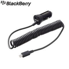 BlackBerry Premium 1.8A Micro USB Car Charger for BlackBerry Z10