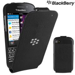 BlackBerry Q10 Flip Shell - Black - ACC-50707-201