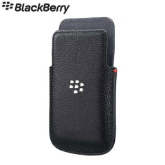 BlackBerry Q5 Leather Pocket - ACC-54681-201 - Black