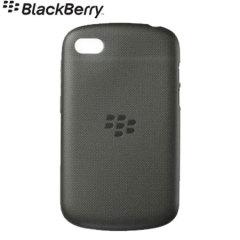 BlackBerry Soft Shell for BlackBerry Q10 - Black - ACC-50724-201