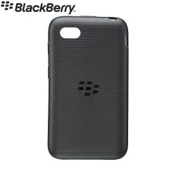 BlackBerry Soft Shell for BlackBerry Q5 - Black - ACC-54693-201