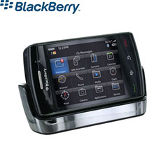 BlackBerry Storm2 Chrome Desktop Charging Pod - ASY-14396-012
