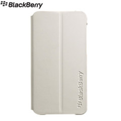 Blackberry Z10 Flip Shell - White - ACC-49284-202