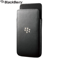 Blackberry Z10 Leather Pocket - Black - ACC-49276-201