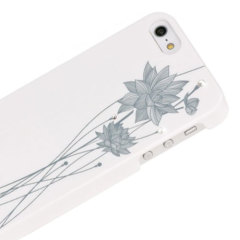 Bling My Thing Ayano Kimura Lotus Flower iPhone 5S / 5 Case - White