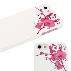 Bling My Thing Ayano Kimura Orchid iPhone SE Case - White
