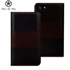 Bling My Thing Infinity Dots iPhone 5S / 5 Case - Black / Red