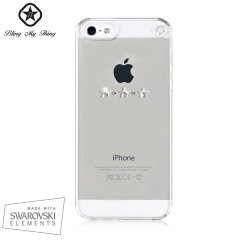 Bling My Thing Les Étoiles iPhone 5S / 5 Case - Clear / Crystal