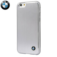 BMW Brushed Aluminium iPhone 6S Plus / 6 Plus Hard Case - Silver