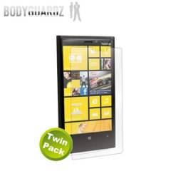 BodyGuardz Anti Glare Nokia Lumia 920 Screen Protector - Twin Pack