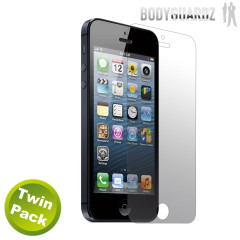 BodyGuardz iPhone 5S / 5 Ultra Tough Screen Protector - Twin Pack