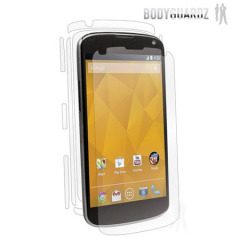 BodyGuardz LG Nexus 4 Full Body Protector - Twin Pack