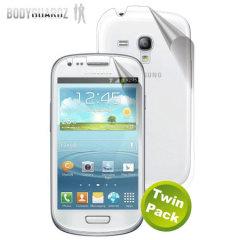 BodyGuardz Samsung Galaxy S3 Mini Full Body Protector- Twin Pack