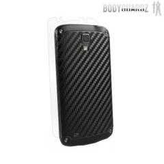 BodyGuardz Samsung Galaxy S4 Active Carbon Fibre Armor Skin - Black