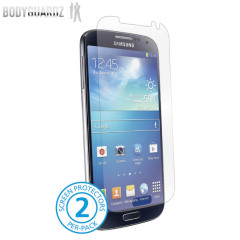 BodyGuardz Samsung Galaxy S4 Ultra Tough Screen Protector - Twin Pack