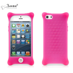 Bone Collection Bubble Case For Apple iPhone 5 - Pink