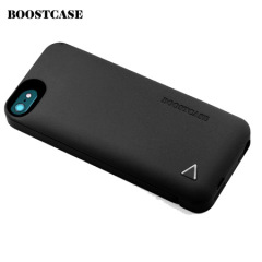 Boostcase Hybrid Snap Case - 1500Mah Battery for iPhone 5S / 5 - Black