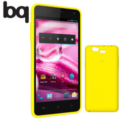 bq Back Cover Case for Aquaris 5.7 - Yellow