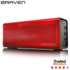 Braven 570 HD Wireless Bluetooth Speaker - Red