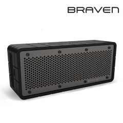 Braven 625s Portable Wireless Speaker - Black / Grey