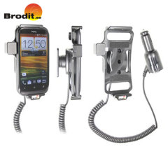 Brodit Active Holder With Cig-plug and Tilt Swivel for HTC Desire X