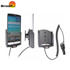 Brodit Active LG G3 In-Car Charging Holder with Tilt Swivel