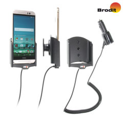 Brodit HTC One M9 Active Holder With Tilt Swivel and Cig-Plug