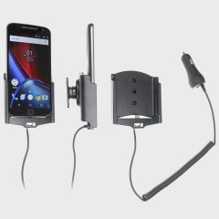 Brodit Motorola Moto G4 / G4 Plus Active Holder - Swivel & Cig-Plug