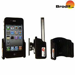 Brodit Passive Holder With Tilt Swivel for iPhone 4S / 4