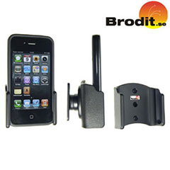 Brodit Passive Holder With Tilt Swivel - iPhone 4S / 4 With Bumper