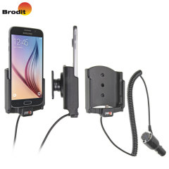 Brodit Samsung Galaxy S6 Active Holder With Tilt Swivel and Cig-Plug