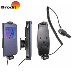 Brodit Samsung Galaxy S6 Case Compatible Active Holder with Cig-Plug