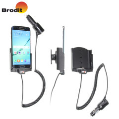 Brodit Samsung Galaxy S6 Edge Active Holder With - Swivel & Cig-Plug