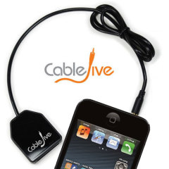 CableJive DockBoss Smart Audio iPhone 5S / 5 to Apple 30 Pin Adaptor