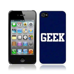 Call Candy iPhone 4S / 4 Hard Back Case - Geek
