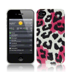 Call Candy iPhone 4S / 4 Hard Back Case - Summer Roar Pink