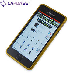 Capdase Alumor Bumper for Samsung Galaxy S2 - Gold/Black