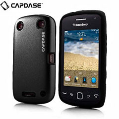 Capdase Alumor Metal Case - BlackBerry Cuve 9380 - Black