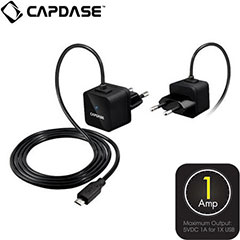 Capdase Atom Plus Universal Power Adapter - Micro USB - Europe
