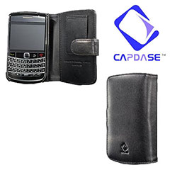 Capdase Classic Leather Book Case For BlackBerry Bold